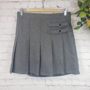 FRENCH TOAST Pleated 2-buckle Skort Size 14 1/2+